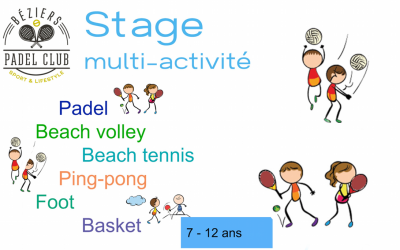 STAGES MULTI-ACTIVITE
