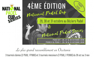 NATIONAL PADEL CUP à BEZIERS