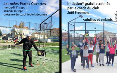 Portes-ouvertes et initiations