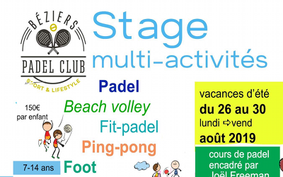 STAGES MULTI-ACTIVITES
