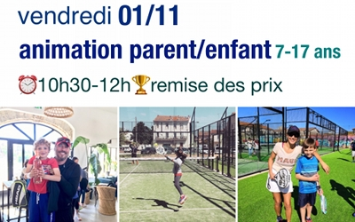 Animation Parent/Enfant Vendredi 01/11