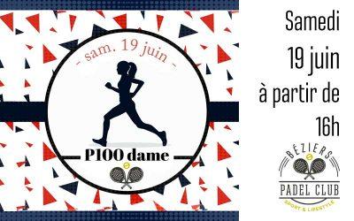 P100 Dames Samedi 19 Juin 2021