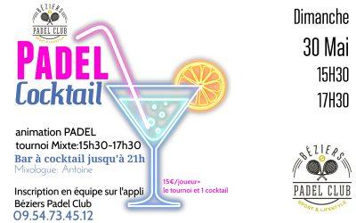 Padel Cocktail Dimanche 30 Mai 2021
