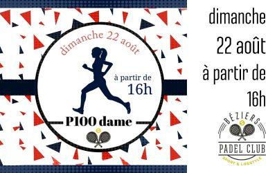 P100 Dames Dimanche 22 Août 2021