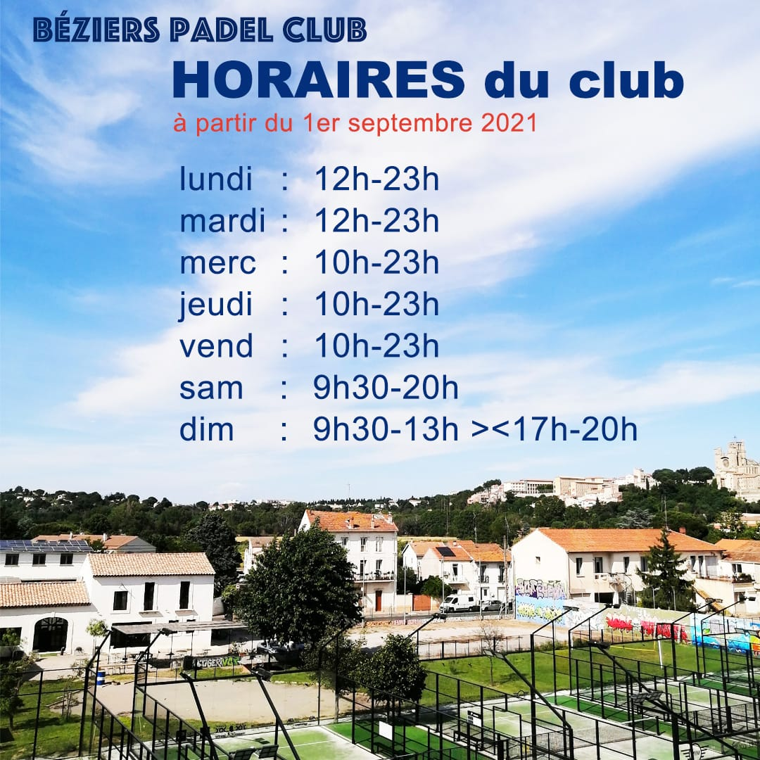 horaires hiver 21